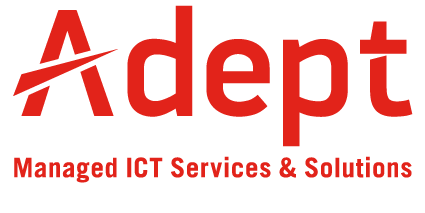 Adept ICT Solutions Mobile Logo